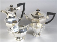 tea set (set of 3) by walker and hall