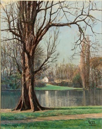 in the park au bois by joseph georges vogler