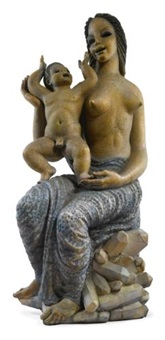 mother and child by waylande gregory