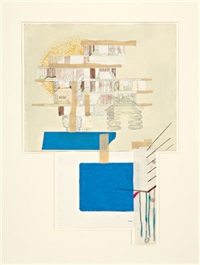 untitled - house drawing by julie becker