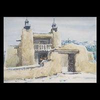 the mission, taos by frank lalumia