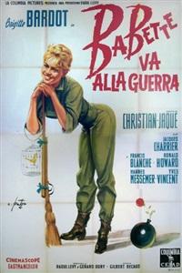 babette va alla guerra/babette s'en va-t-en guerre (poster) by arnaldo putzu