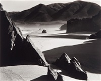 garrapata beach, california by brett weston