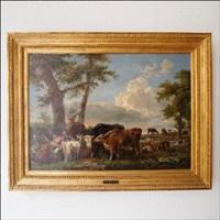 fermier avec bétail by george morland