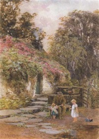a visit to grandpa's by isabel oakley naftel