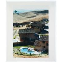 backyard with pool by bill owens
