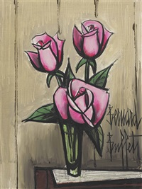 roses by bernard buffet