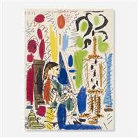 l'atelier de cannes (cover for ces peintres nos amis vol. ii) by pablo picasso