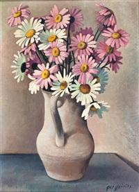 bloemen in witte kan by ger gerrits