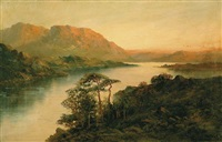the middle lake, killarney, ireland by m. jackson