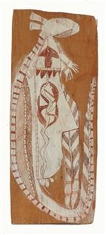lorrkon ceremonial kangaroo by yirawala
