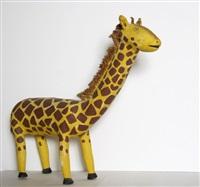 giraffe by david alvarez