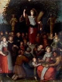 l'hommage à cérès by louis de caullery