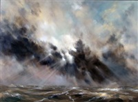 majesty, light breaking through after the storm by martin kinnear