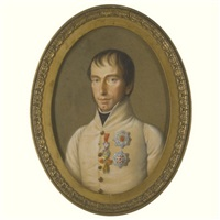portrait of rainer, archduke of austria by natale schiavoni