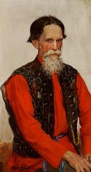 a russian merchant by ivan semionovich kulikov