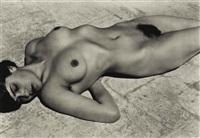 nude (tina on the azotea) by edward weston