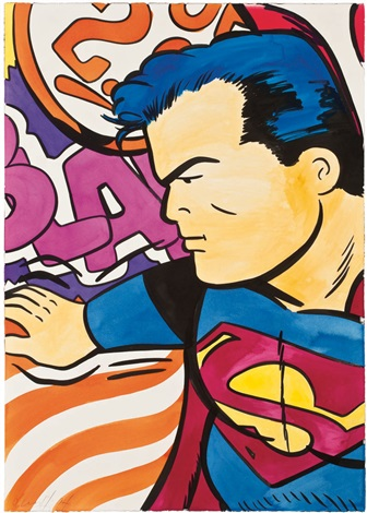 untitled superman by crash