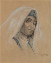 portrait de marocaine by carlos abascal
