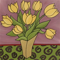 yellow tulips by anne wanda tessier