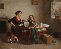 scène de famille by edmund adler