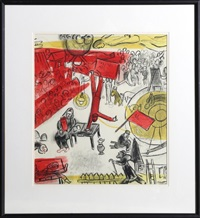 revolution by marc chagall