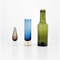 three vases/vessels by tapio wirkkala