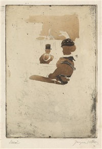 f757e5d9ea25 Au Café de la Place Blanche, 1905