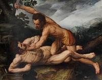 caïn et abel by frans floris the elder