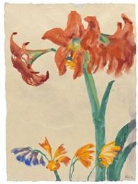 amaryllis by emil nolde