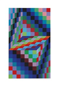 axo 66 (2136) by victor vasarely
