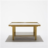 coffee table by j. robert swanson, pipsan swanson saarinen and eliel saarinen