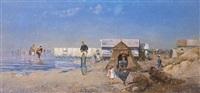 on the beach by r. alott