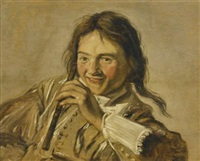 a young boy with a flute by frans hals the elder