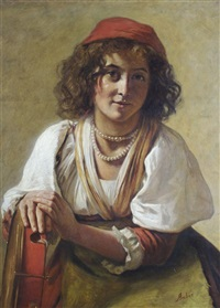 gypsy girl by james archer