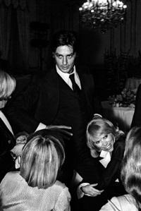 alain delon et mireille darc lors d'une soirée donnée à l'occasion de la sortie du film borsalino, le 22 octobre by francis apesteguy