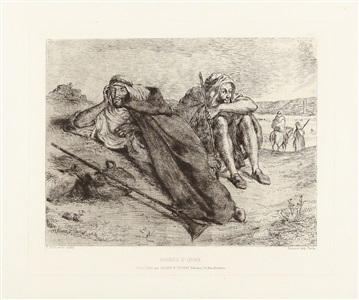 artwork by eugène delacroix