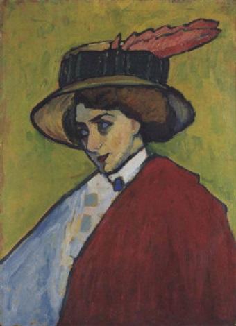 portrait einer jungen dame