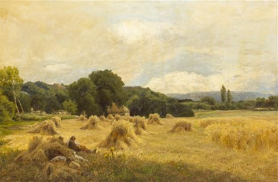 harvest time by john clayton adams