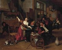 Steen In Interieur : Jan steen artnet