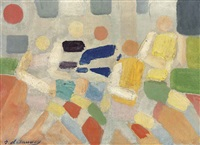les coureurs by robert delaunay
