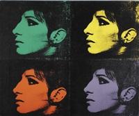 4 barbra's (from jewish jackie series) by deborah kass