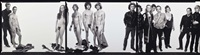 andy warhol and group, october (3 works) by richard avedon