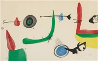 déballage ii by joan miró