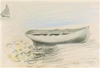 etude de bateaux by alfred sisley