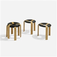 stools (set of 4) by rud thygesen