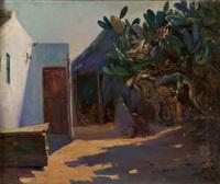 poblado del norte de áfrica by manuel gonzalez santos