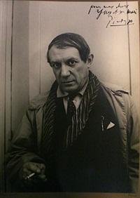 portrait de picasso by rogi andré