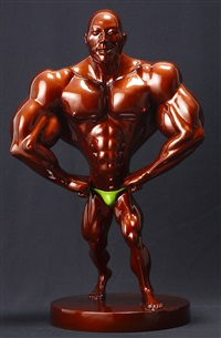 muscular man by ian