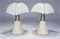 pipistrello table lamps (2) (model 620) by gae aulenti